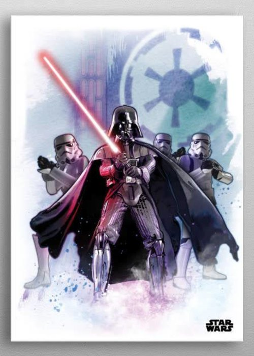 Star Wars The Dark Lord  |  Star Wars Iconic Paintings