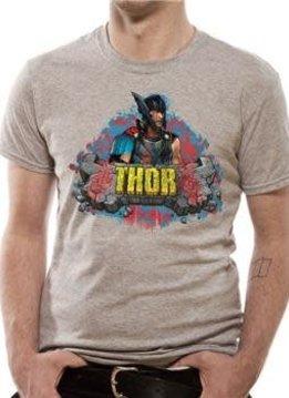 Marvel Rock| Thor Ragnarok | T-shirt Grey
