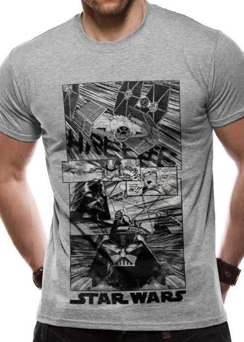 Star Wars New Hope Manga | Star Wars | T-shirt Grey