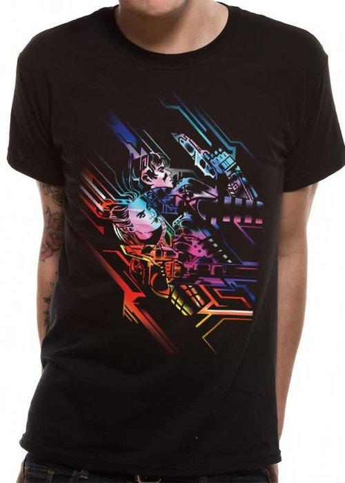 Neon Poster | Valerian | T-shirt Black