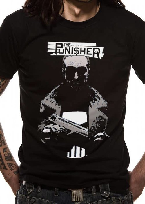Marvel Pocket | Punisher | T-shirt Black