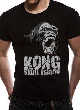 Kong Skull Island Roar | Kong Skull Island | T-shirt Black