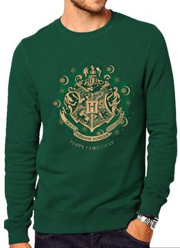 Harry Potter Happy Hogwarts |Harry Potter |Sweatshirt Green