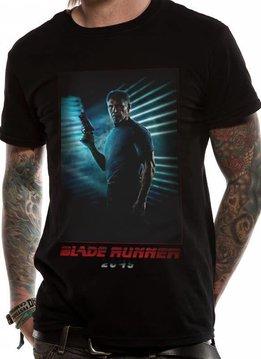 Deckard Full Red   Blade Runner 2049   T-shirt Black