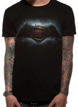DC Comics Logo | Batman Vs Superman | T-shirt Black