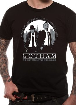 This City | Gotham | t-shirt Black