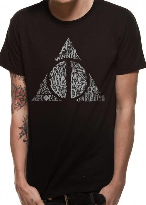Harry Potter Symbol | Harry Potter | T-shirt Black