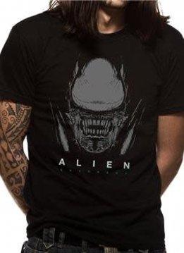 Alien Xeno & logo | Alien Covenant | T-shirt Black