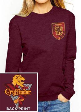 House Gryffindor   Harry Potter  Sweatshirt Red