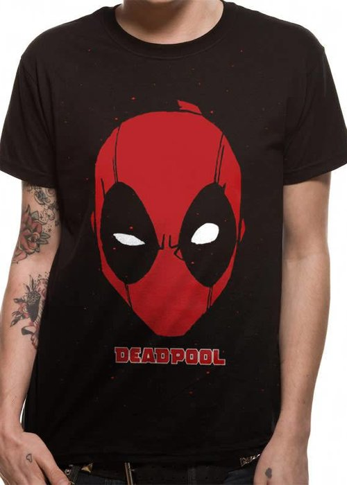 Marvel Portrait | Deadpool | T-shirt Black