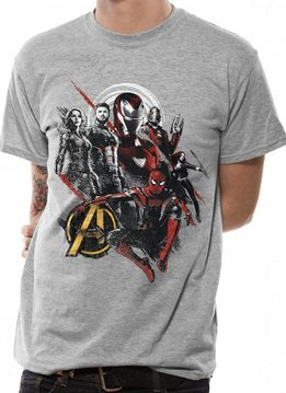 Marvel Good Mix | Avengers Infinity War |T-shirt Grey