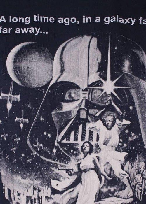 Star Wars Vintage Poster | Star Wars | T-shirt Blue
