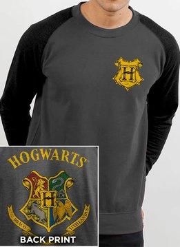 Harry Potter Hogwarts Color Crest | Harry Potter | Sweater Grey
