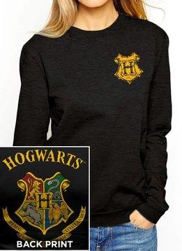 Harry Potter Hogwarts Color Crest - Harry Potter - Female Sweater Black