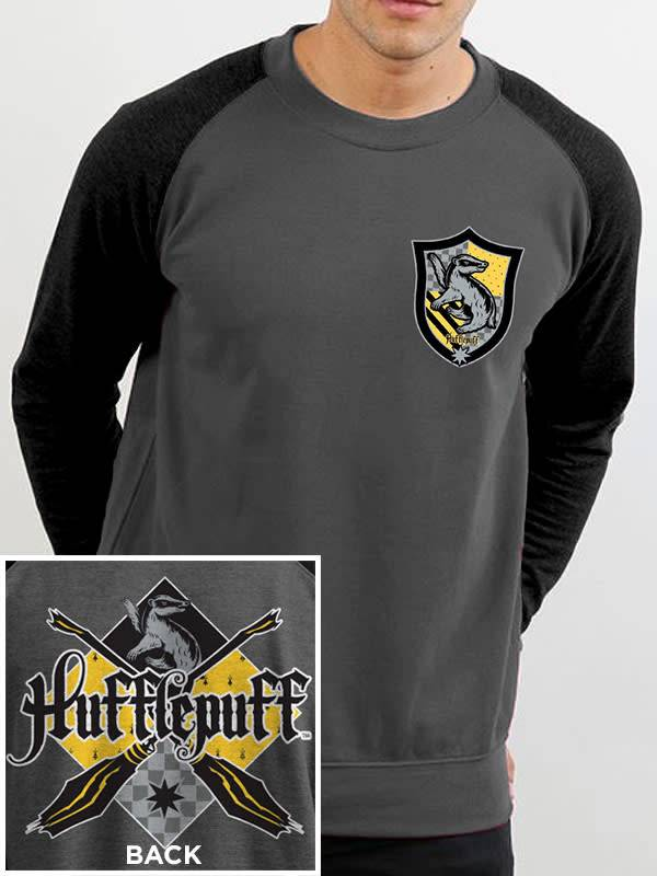 Harry Potter House Hufflepuff Harry Potter Sweater Grey The Lab