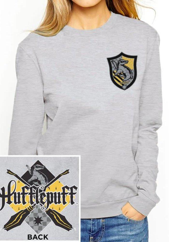 House Hufflepuff | Harry Potter | Female Sweater Grey