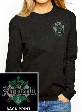 Harry Potter House Slytherin | Harry Potter | Female Sweater Black