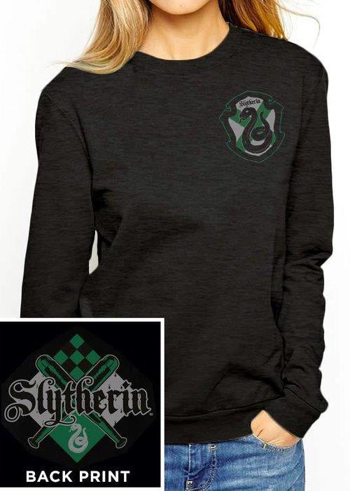 Harry Potter House Slytherin | Harry Potter | Female Sweater Black