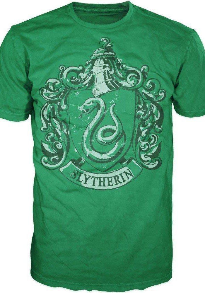 House Slytherin   Harry Potter   T-shirt Green