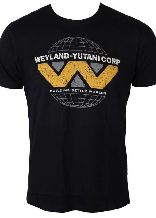 Weyland Yutani Logo | Alien | T-shirt Black