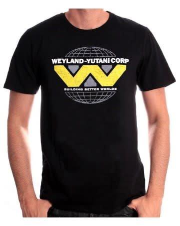 WAYLAND YUTANI LOGO - Alien - T-shirt Black