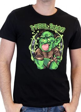 Blizzard I Feel Icky - Hearthstone - T-shirt Black