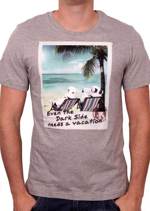 Star Wars Need Vacation | Star Wars | T-shirt Grey