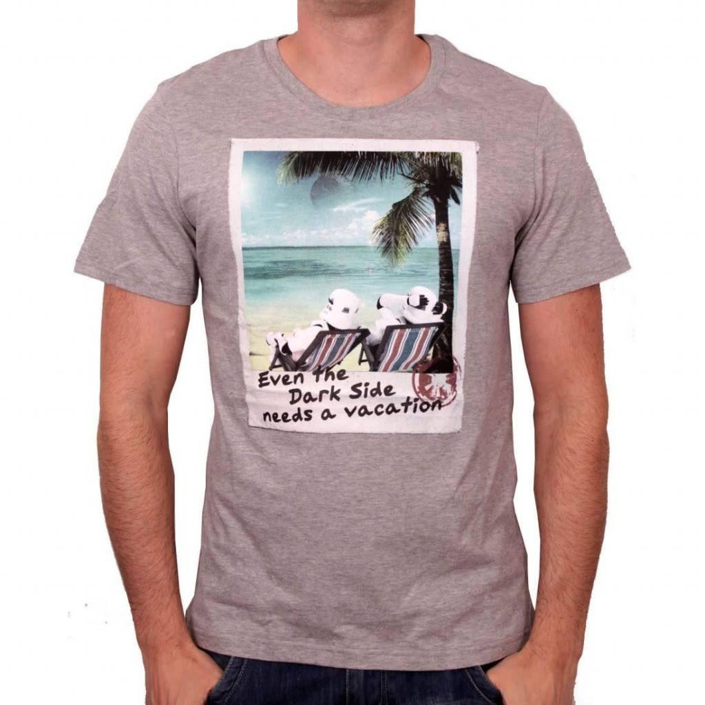 Star Wars Need Vacation - Star Wars - T-shirt Grey