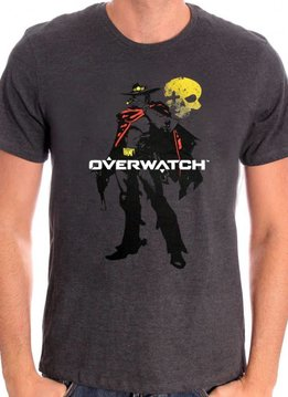 Blizzard Mccree - Overwatch - T-shirt Grey