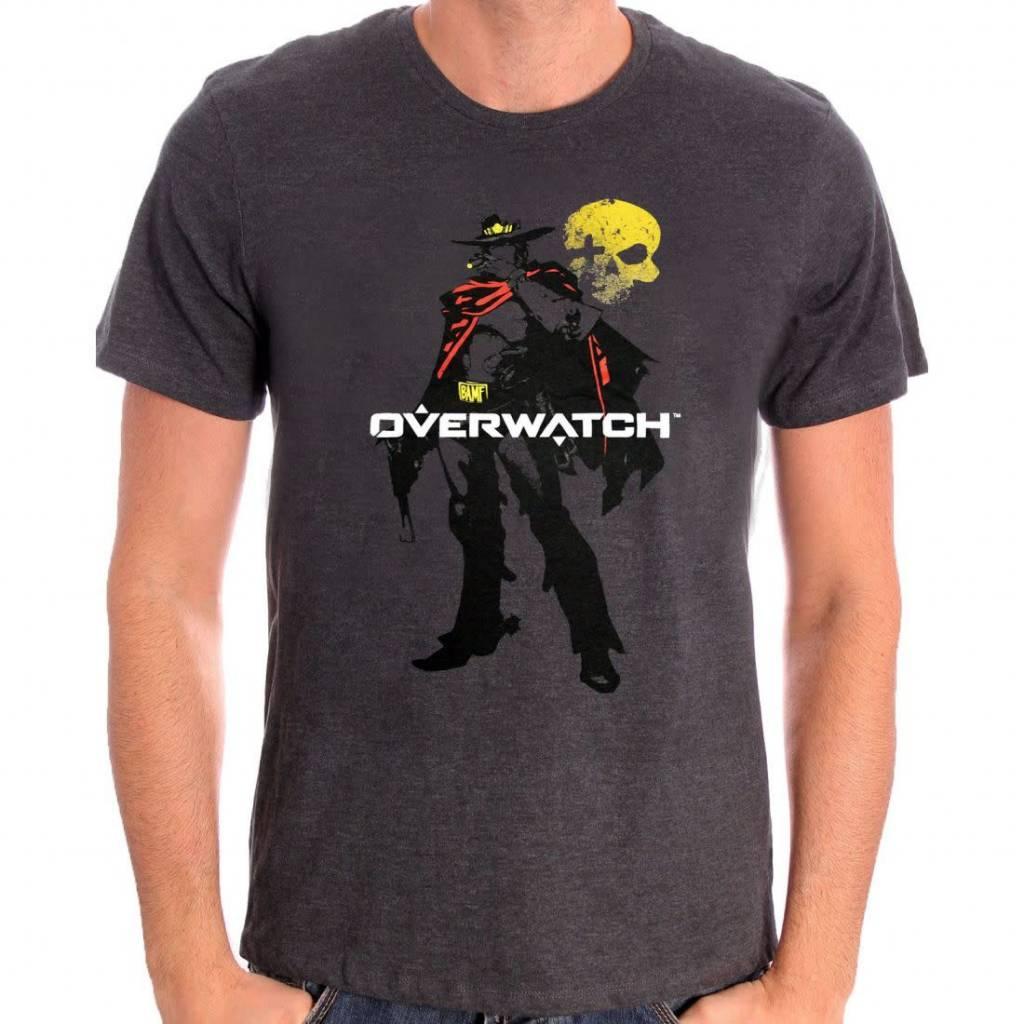 Blizzard Mccree - Overwatch - T-shirt Grey