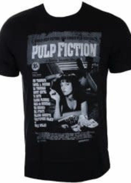 Pulp Fiction - T-shirt Black