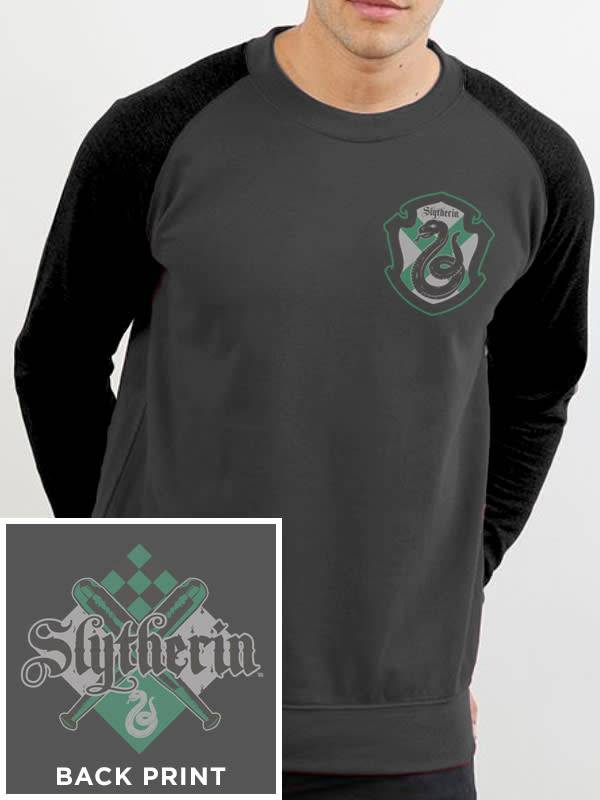 Harry Potter House Slytherin - Harry Potter - Grey Sweater