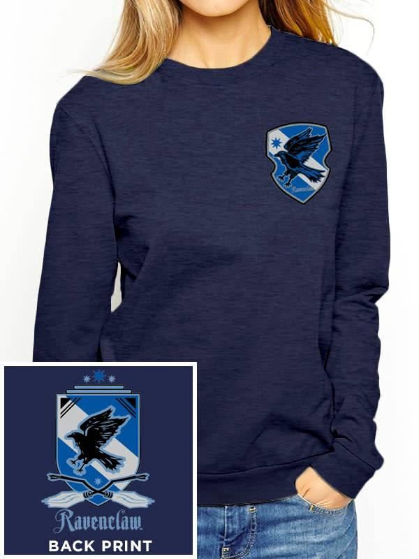 Harry Potter House Ravenclaw - Harry Potter - Female Sweater Blue