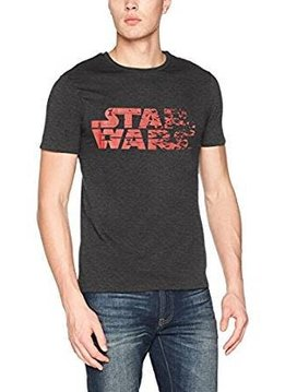 Star Wars Star Wars Logo Destroyed - T-Shirt Black