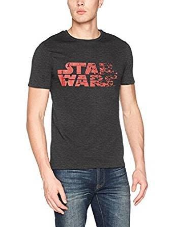 Star Wars Star Wars Logo Destroyed - T-Shirt Black
