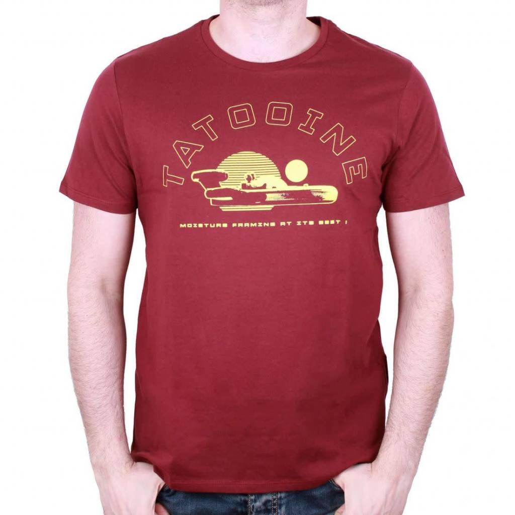 Star Wars Tatooine - Star Wars 40 Years - T-shirt Red