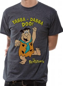 The Flintstones Yabba Dabba Doo - The Flintstones - T-shirt Grey
