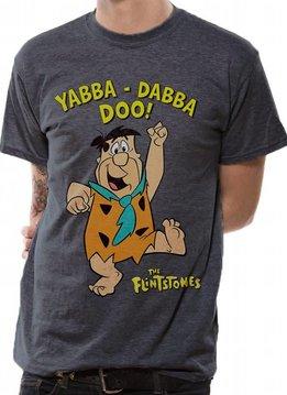Yabba Dabba Doo - The Flintstones - T-shirt Grey