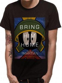 Looney Tunes The Martian - Looney Tunes - T-shirt Black