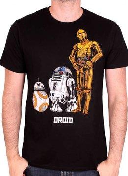 Star Wars Droids - Star Wars 8 - T-shirt Black