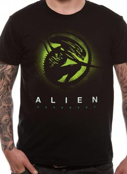 Silhouette - Alien Covenant - T-shirt Black