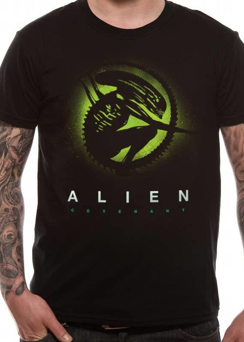 Silhouette | Alien Covenant | T-Shirt Black