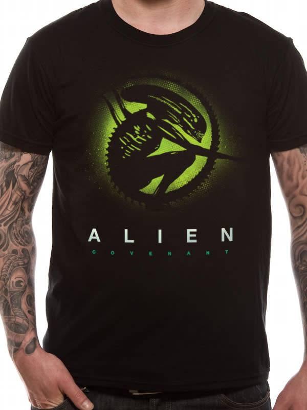 Alien Silhouette - Alien Covenant - T-shirt Black