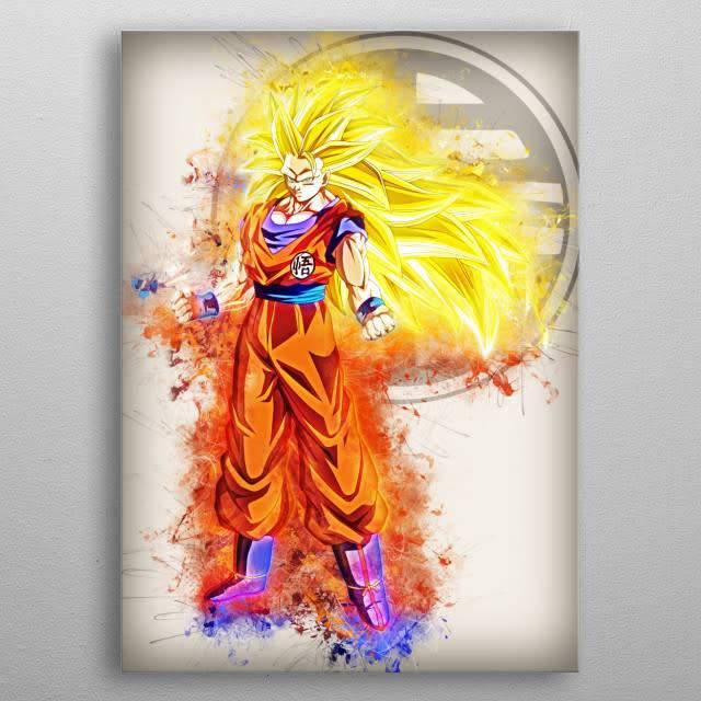 Goku Edit | Rapture | Displate