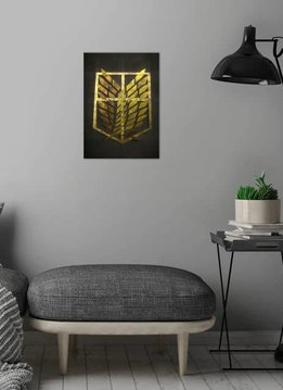 roro Survey Corps | Gold Crest | Displate