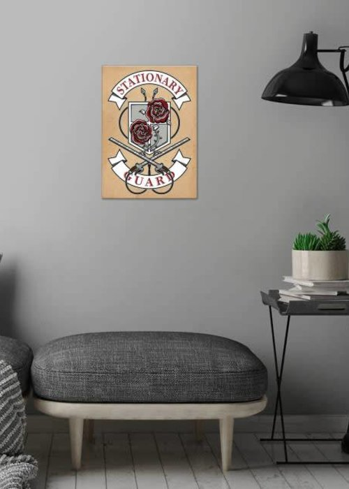 Olipop Art & Design Stationary Guard crest from Attack on Titan.  | Manga Anime