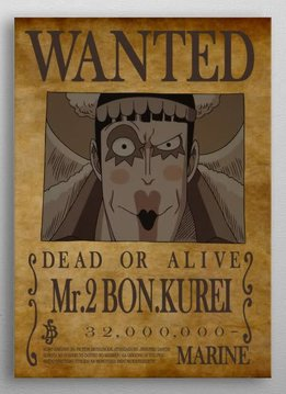 Bounty of Baroque Works   One Piece Wanted   Displate