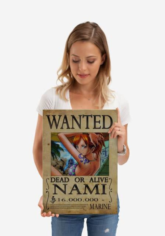 Wanted of Nami from One Piece  | One Piece Wanted