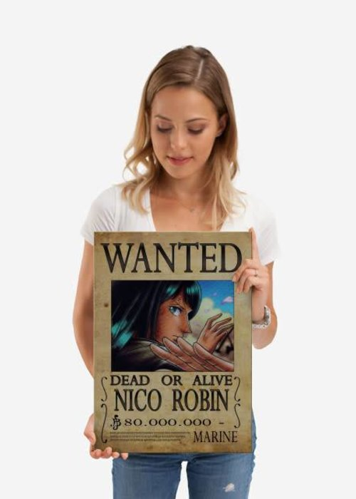 Nicolas Massot Wanted of Nico Robin from One Piece !!  | One Piece Wanted