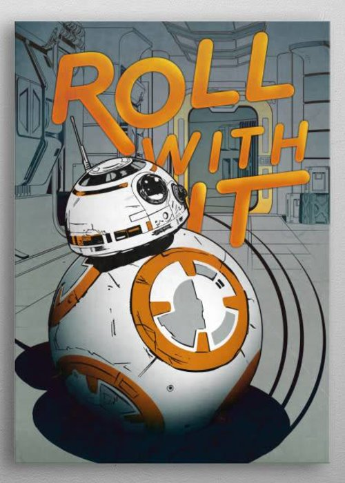 Star Wars Roll With It  | BB8 Astromech Droid